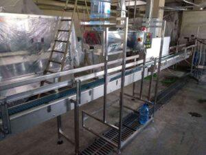 Паровой тоннель для усадки колпачка на горлышко бутыли 19 литров